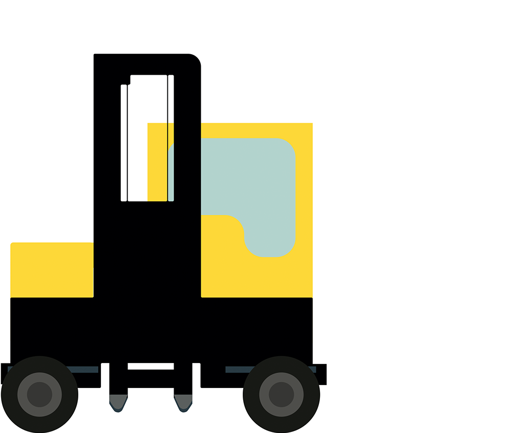 forklift short term rental, material handling equipment, counterbalance forklift rental