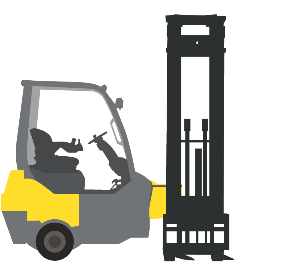 material handling equipment, warehouse equipment rental, forklift attachment rental